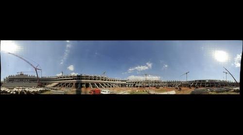 Obras da Arena do Grêmio
