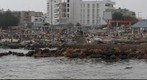 View of Dakar&#39;s Soumbedioune Fish Market, Senegal Africa