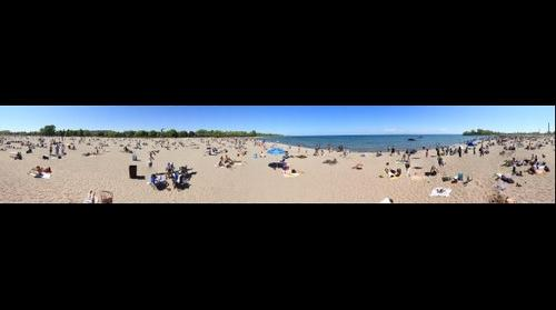 Woodbine Beach, Toronto Beaches; Victoria Day 2012 (May Two-Four Weekend)