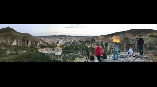 Cuenca y las luces nocturnas