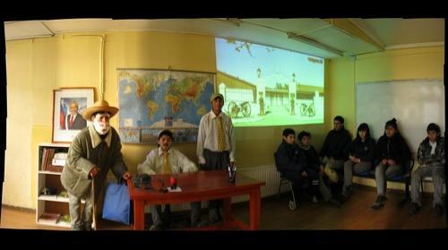 El padre, colegio Cordillera