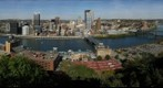 Pittsburgh from the Top of the Monongahela incline