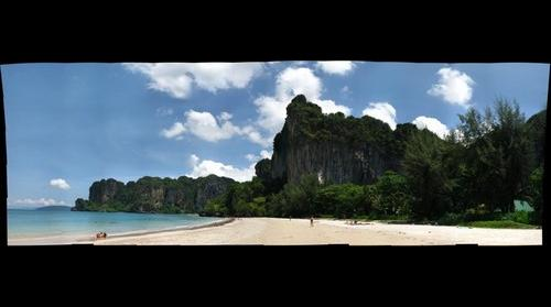 Thailand - Cliffs of Raleigh Beach