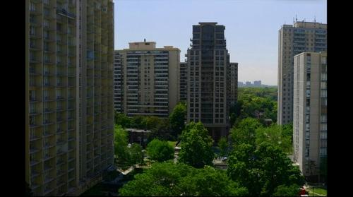 High Park Village - west view