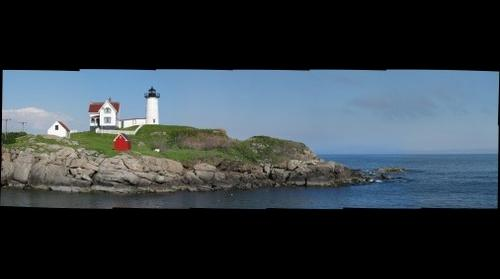 Nubble Light House (1), Cape Neddick, York, Maine