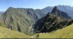 The West Side of Machu Picchu and the Urubamba River