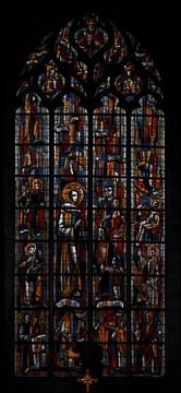 Jacques Bony Ploermel vitrail St Armel