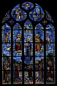 Jacques Bony Ploermel Le Couronnement de la Vierge.