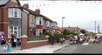 360 view of Evesham Avenue street party in Whitley Bay