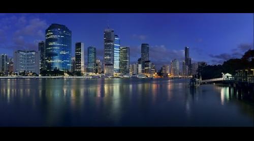 Brisbane City Shot on a Phase One IQ180