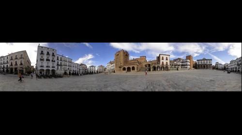Plaza Mayor de Caceres