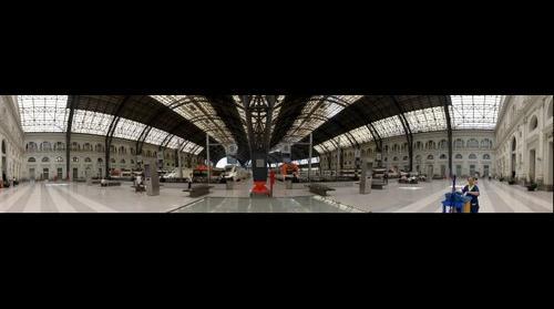 Panorámica de la Estación de Francia