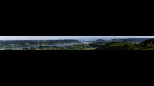 Ria Villaviciosa desde Moriyon