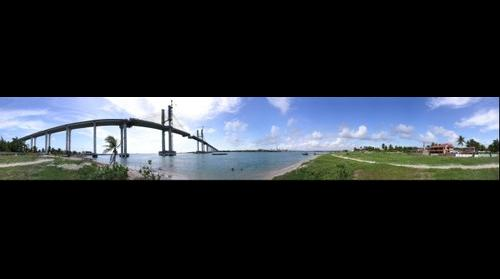 bridge in natal RN / Brazil
