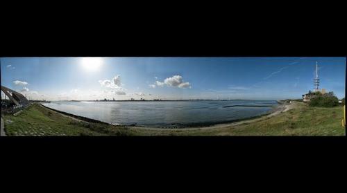 Nieuwe Waterweg at Hoek van Holland