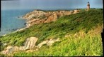Gay Head Lighthouse and Cliffs in Aquinnah, MA