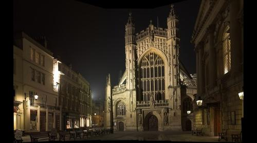 Bath Abbey, Bath, UK