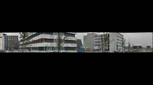 IJburg College and the boulevard