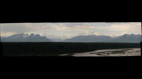 denali view from parks highway