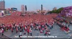 FanTag from Warsaw FanZone - match POL-RUS - EURO 2012