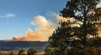 Waldo Canyon Fire from Monument