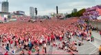 FanTag from Warsaw FanZone - match POL-CZE - EURO 2012