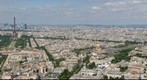 Paris from the Tour de Montparnasse