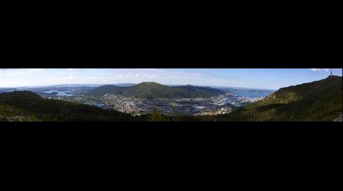Bergensdalen from Ulriken