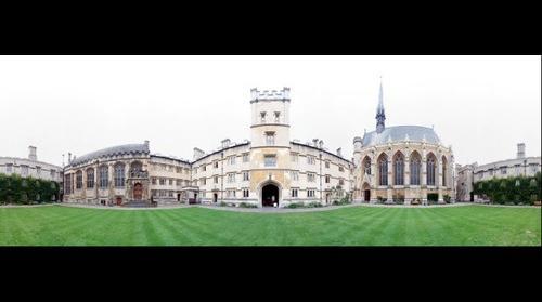 Exeter College Front Quad