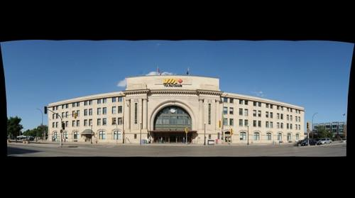 Winnipeg's VIA Rail Union Station
