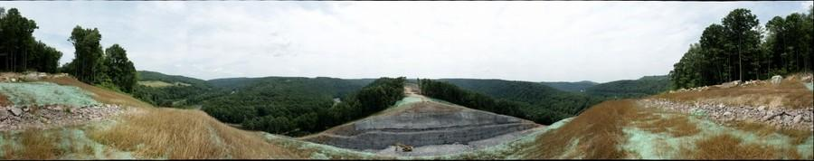 360 degree view from hilltop on Pinkerton Horn, 2012/7