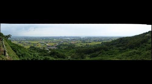 遠眺新豐鄉及新竹海岸線
