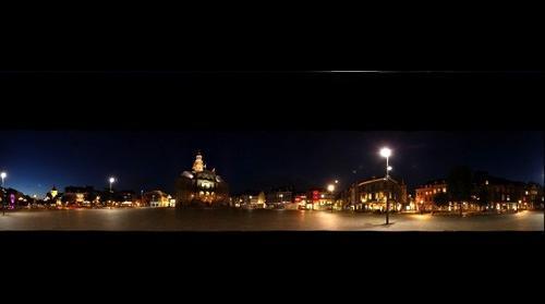 Markt Maastricht By Night