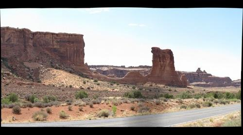 A possible collapsed arch?  Arches National Park