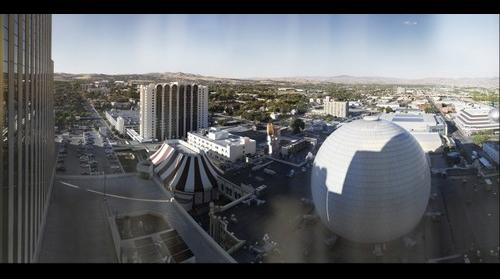 Reno, NV, From 25th Floor of Silver Legacy