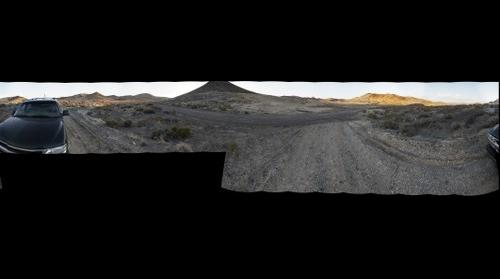 Nevada high desert panorama