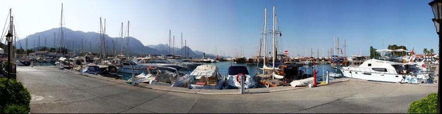 Gigapanorama Kemer Marina Antalya Turkey / Türkiye
