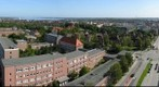 View over Kiel from university main building