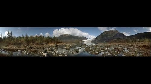 Mendenhall Glacier, Juneau, Alaska October 2008