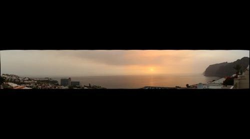 Sunset at Los Gigantes
