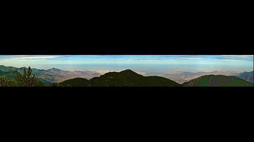 La costa desde Cajarumi, 3400 m