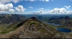 View of Snowdon and Snowdonia