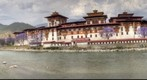 Punhaka Dzong Panorama