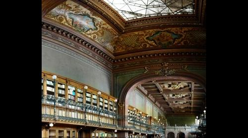 """The Library of the """"Gheorghe Asachi"""" Technical University of Iasi"""