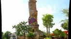 Universal Studio's Islands of Adventure Theme Park Entry Tower, Orlando Florida