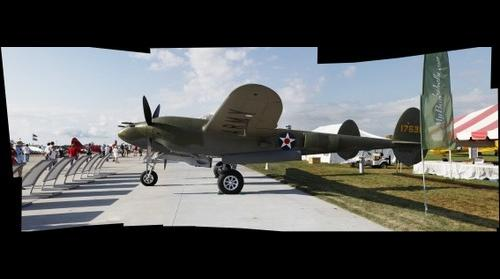 Airventure Glacier Girl Side View Pano