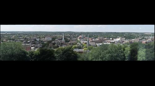 View of Troy NY from EMPAC