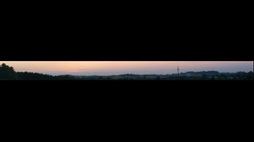 Nowa Huta sunset