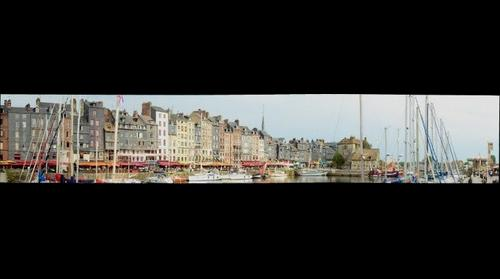 Honfleur Harbor II France with Gigapan Stitch 2.0.0501