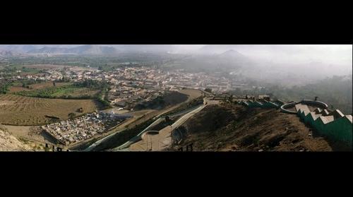 Moro - Perú. Vista desde el mirador